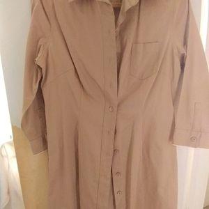 GAP button down dress, size 14, never worn